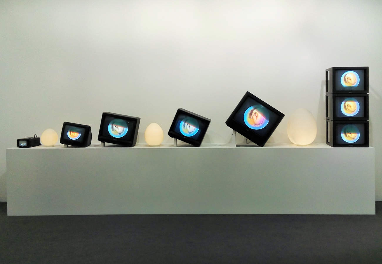 Nam June Paik, James Cohan, ART Basel 2017