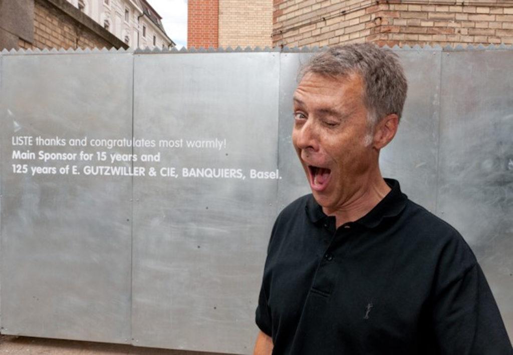 Albert H. Riedlin Techniker für LISTE Art Fair