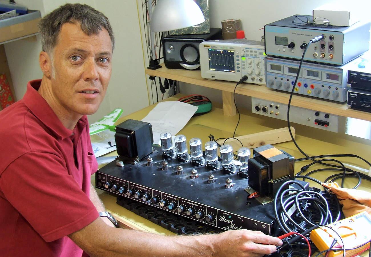 Albert Riedlin Revision eines PEAVEY RoadMaster