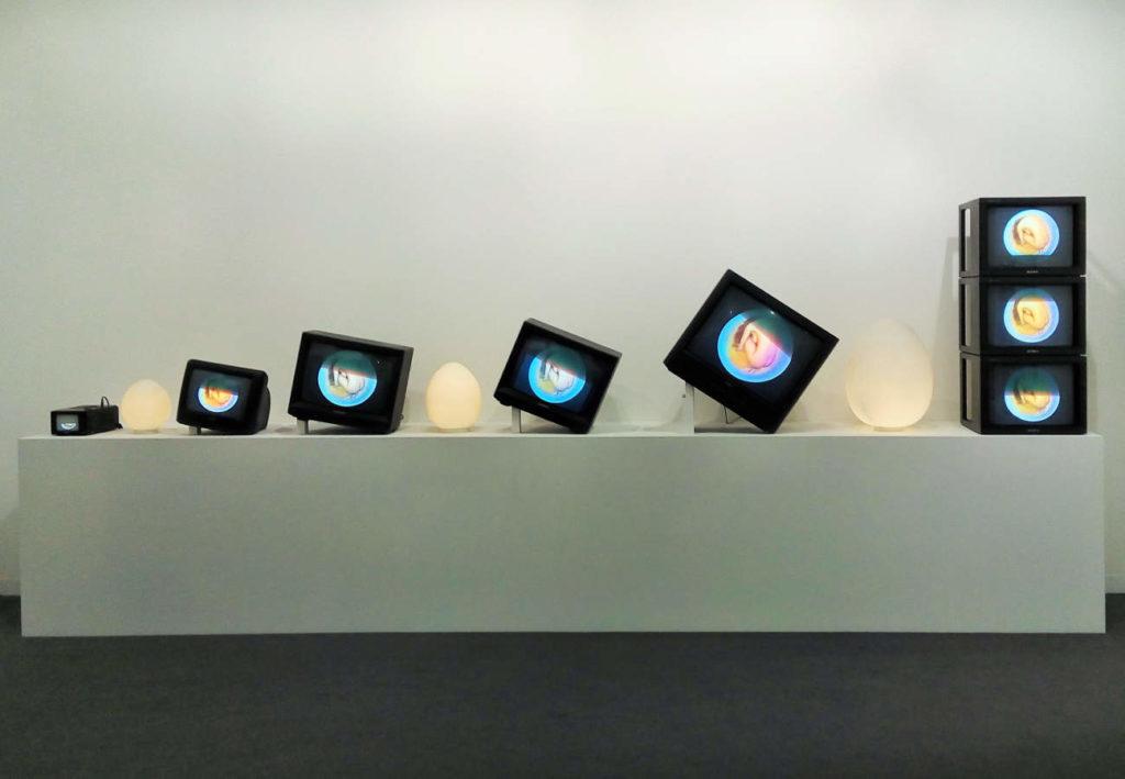Nam June Paik, James Cohan, ART Basel 2017