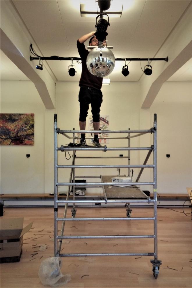 albi SERVICES Montagearbeiten in einer Discothek